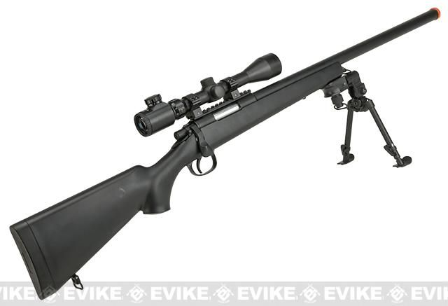AGM M700 Airsoft Bolt Action Sniper Rifle with Scope Rail