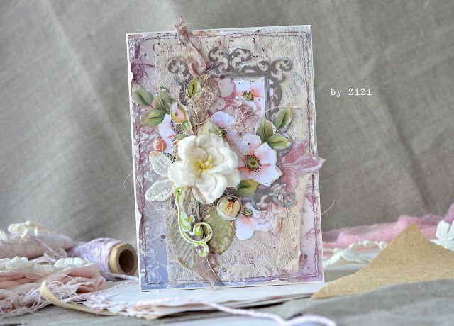 ZiZiркалье: Я в ДК Каралiкi!!! ♥ И открытка по скетчу Простых радостей!