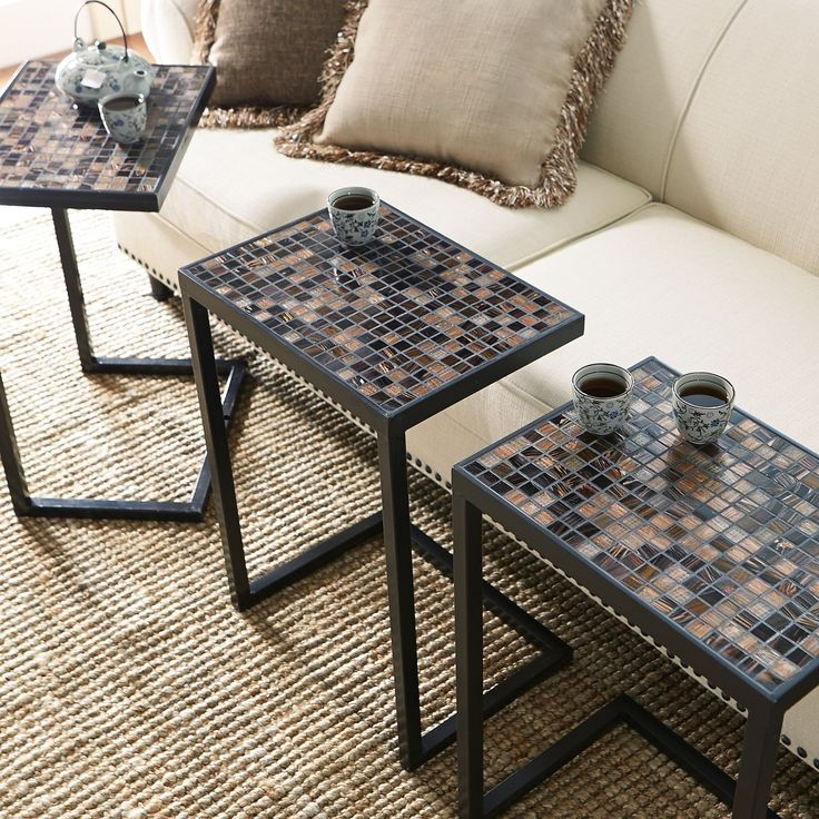 Living Room Table Decor Trays