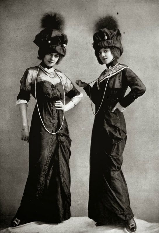 Dress for the races by J. Dukes  photo by Reutlinger, Les Modes May 1912
