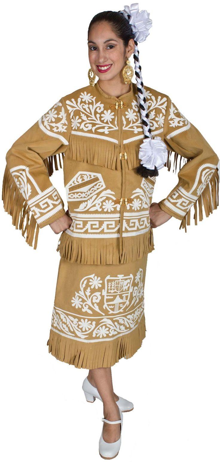 Vestido regional de Tamaulipas México