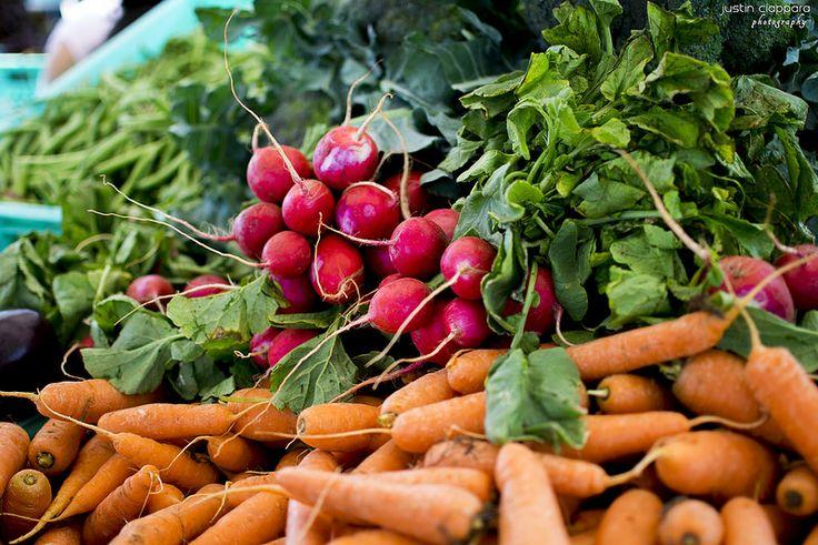 Radishes and Carrots at Ta' Qali Farmers' Market