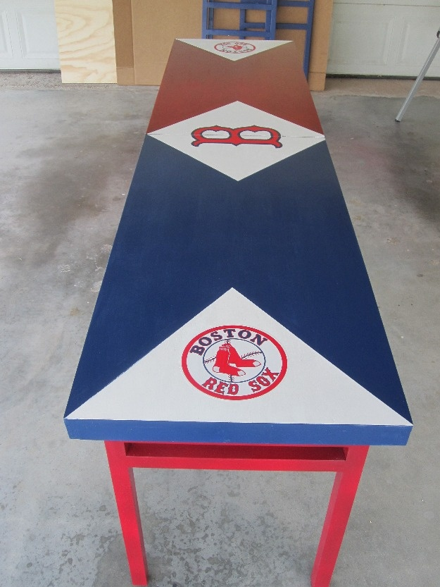 Beer pong table, needs to be Yankees though ;)