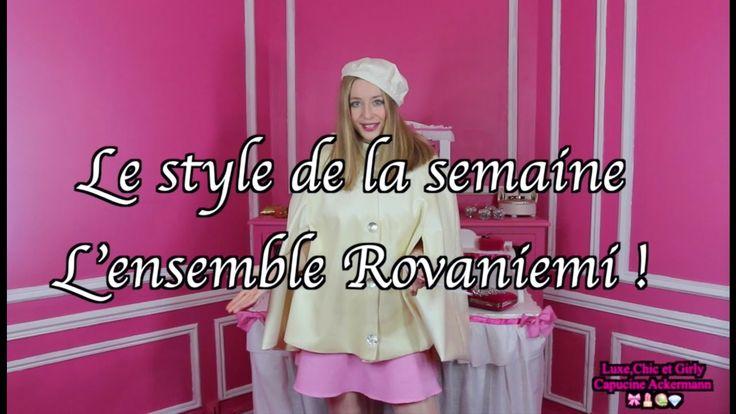 "L' ensemble Rovaniemi ""By Capucine Ackermann"" 🎀 😃"