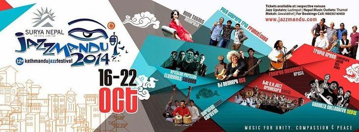 Jazzmandu 2014 - the week-long international Jazz extravaganza | Music Malt   More - http://www.musicmalt.com/2014/10/Jazzmandu-2014.html
