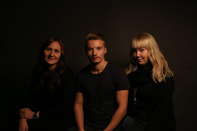 Domino. candleholder designers: Hanna-Marie Naukkarinen, Niko Hakala and Marianne Mäensivu
