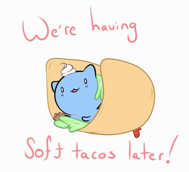 Catbug-we're having soft tacos later!  #softtacos #catbug #cute