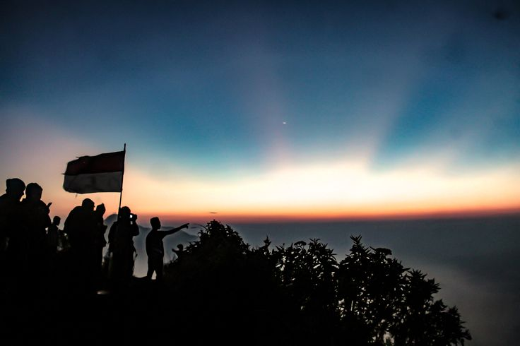 Indonesia from Mount Andong -
