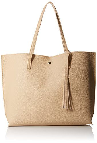 4aabb802bb28 SALE PRICE -  16.99 - Oct17 Women Large Tote Bag - Tassels Faux Leather  Shoulder Handbags