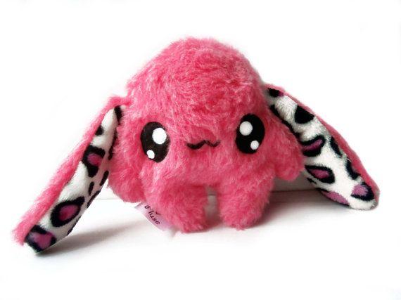 Fluse Kawaii Plush Cute Rabbit stuffed animal Pink von Fluse123