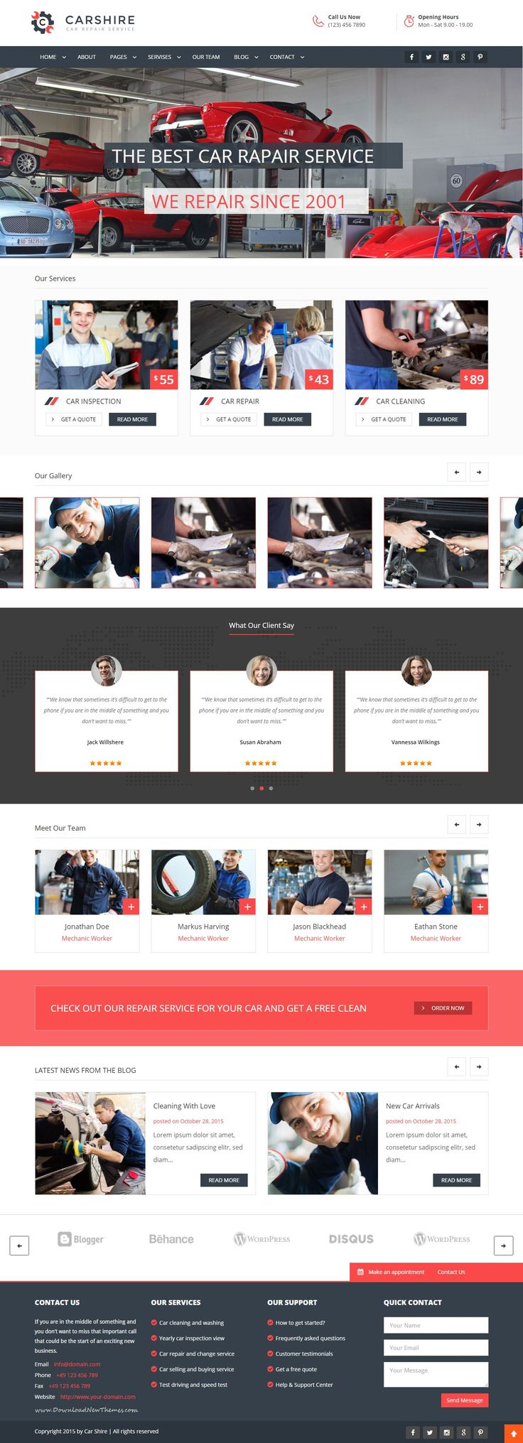 The template is built for Auto Mechanic, #Car Repair Shops, Car Wash, Garages, Automobile Mechanical, Mechanic #Workshops, Auto Painting, Auto Centers and other Auto and Car related services and it is suitable for any kind of small business activity Spectacular #Website design.