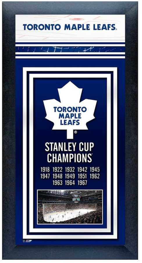 NHL Toronto Maple Leafs Stanley Cup Champions Framed Wall Art