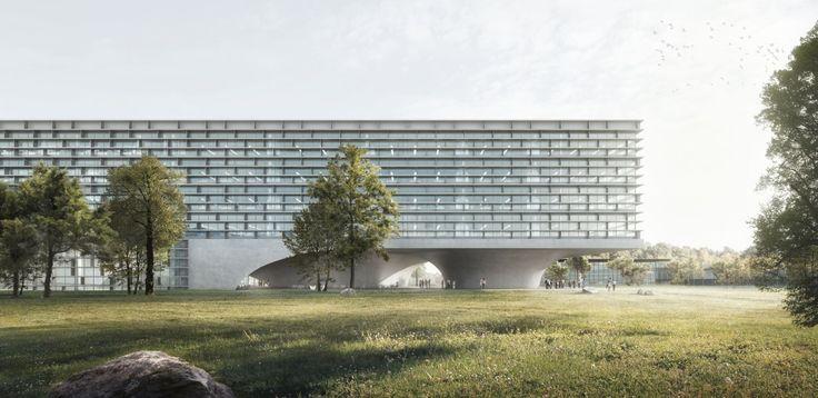 BERREL BERREL KRÄUTLER . Life Science Building . Lausanne (1)