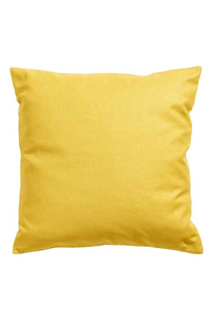 Холщовый чехол для подушки | H&M