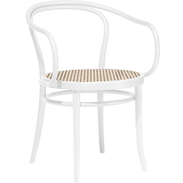 Thonet no 30 stol, hvid/rotting – Ton – Køb møbler online på ROOM21.dk