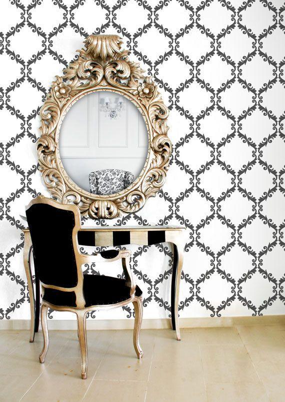 desk/mirror/chair