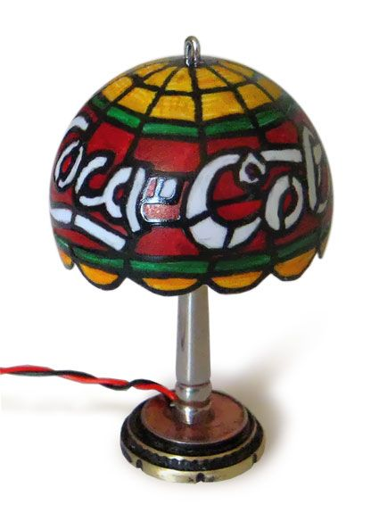 Charming USB Miniature Tiffany Lamp