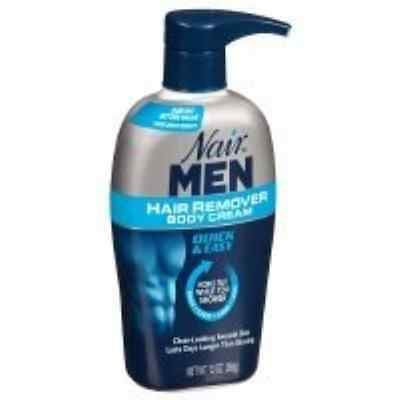 Hair Removal Creams and Sprays: Nair Men Hair Removal Body Cream, 13 Oz - 2Pc BUY IT NOW ONLY: $33.99
