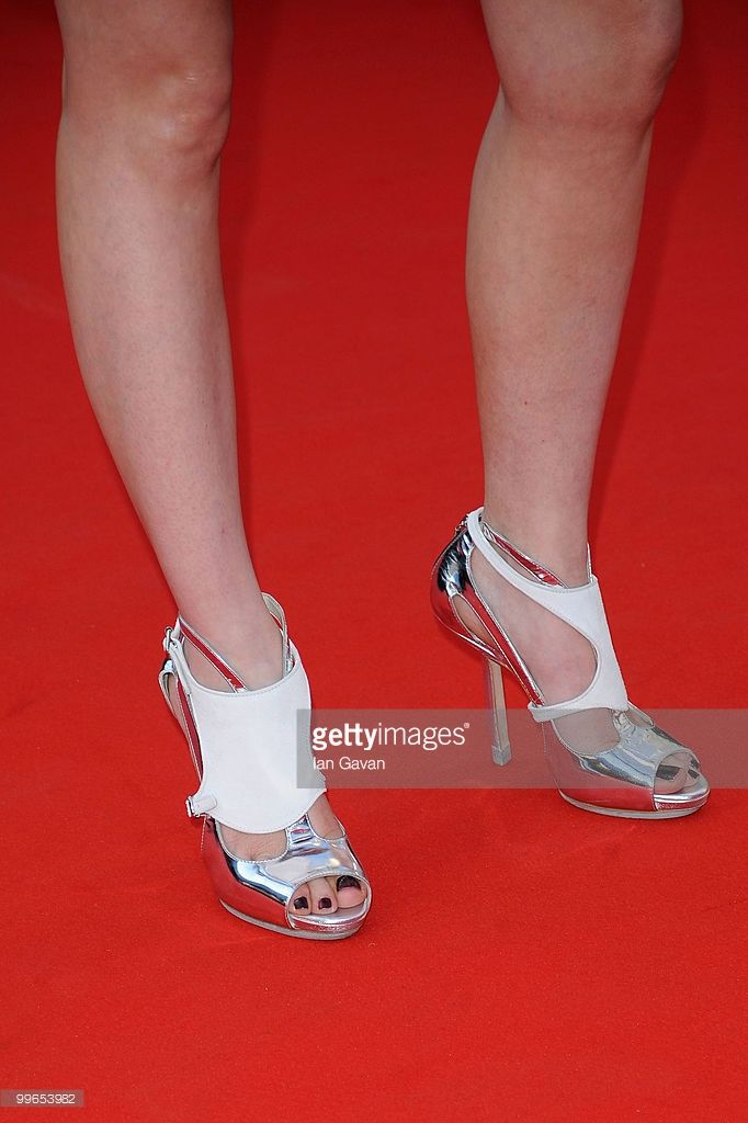 Photo d'actualité : A detail of actress Audrey Lamy as she attends...