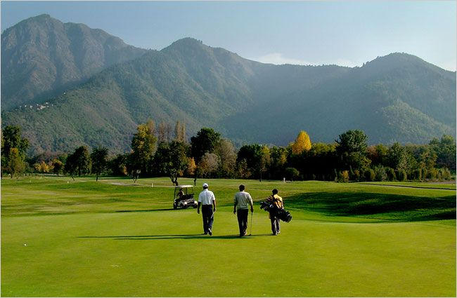 Things to Do in Kashmir:-Golf