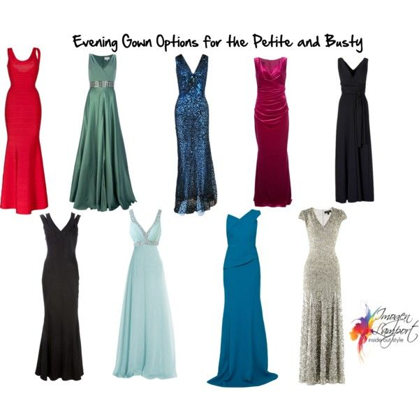evening gowns petite and busty by imogenl on Polyvore featuring Roland Mouret, Jenny Packham, Temperley London, Christian Dior, Hervé Léger and Talbot Runhof