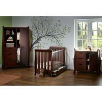 Obaby Stamford Mini 3 Piece Room Set in Walnut: This elegant and traditional furniture set in walnut is ideal for baby's nursery, with…