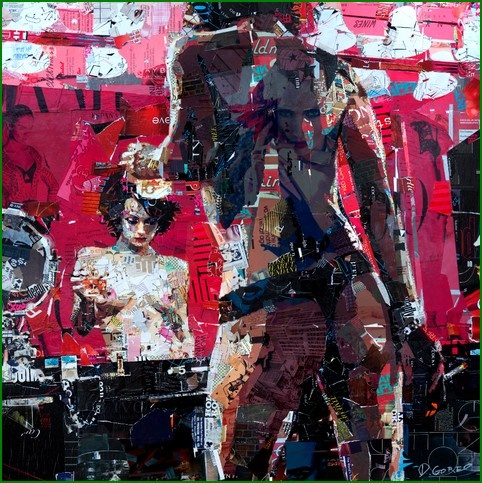 Derek Gores Collage Art: Art Derek Gore, Art Illustrations, Art Blog, Art Paintings, Artderek Gore, Collage Art, Art Illustrationpaint, Artists Derek, Recycled Magazines