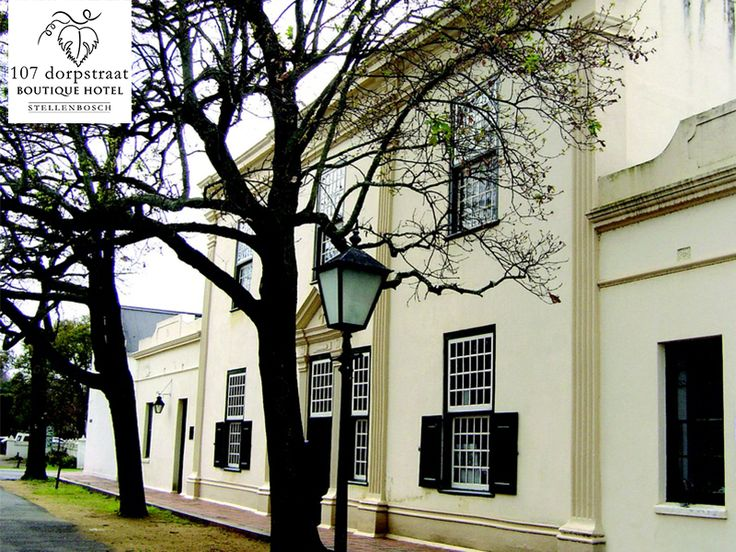 The wonderful architecture of Dorp Street and the town Centre is of immense historical value. Come stay at our luxurious hotel to explore Stellenboschs' history. Link: http://ow.ly/RUKyS