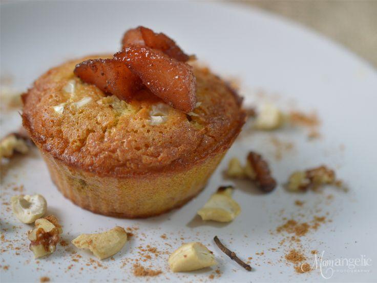 Muffins με μήλο και κυδώνι!
