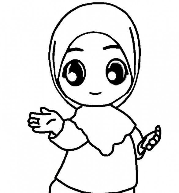 Keren 30 Gambar Kartun Anak Muslim Perempuan Di 2020 Dengan