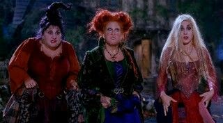 The Sanderson sisters Hocas Pocas - 1993