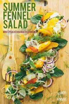 summer fennel salad | boardsandknives.com