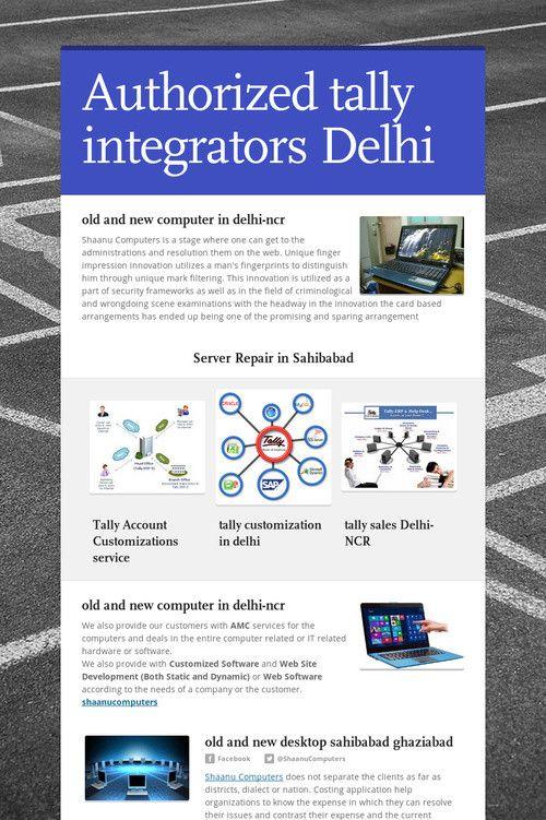 Authorized tally integrators Delhi