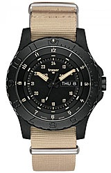 The Sand Collection are the newest military grade watches from Traser with Tritium Illumination, extreme water and shock resistance, Day/Date Display and a virtually scratchproof Sapphire Crystal.