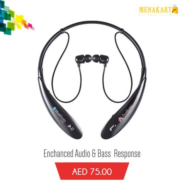 Audionic B-800 #earphone #Bose #earbuds #music #sound #sportearphone #online #shopping #menakart