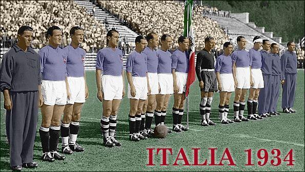 Italia 1934 World Cup Team