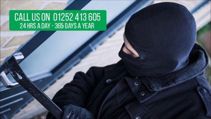 Aldershot Locksmiths - Burglary Prevention