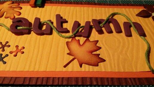 Tag Autumn. Ann Friks Original.
