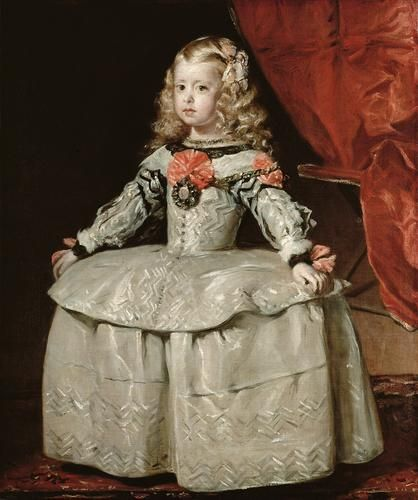 Infanta Margarita Teresa of Spain at the age of 5, Diego Velázquez in 1656.