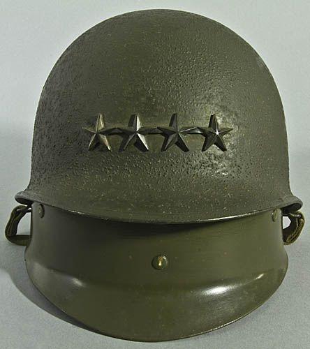 General William M. Hoge's M-1 Helmet