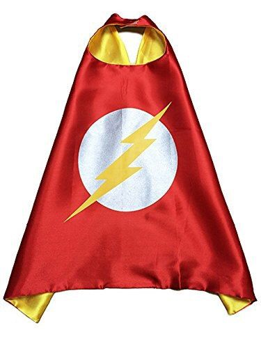 Flash Superhero Cape. Kids Superhero Birthday Party Favors. by LilPartyTreasures on Etsy