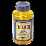 Holland & Barrett Cod Liver Oil with Evening Primrose Capsules 500mg