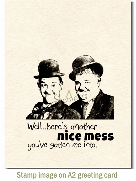 26 best StampersBest Products images – Laurel and Hardy Birthday Cards