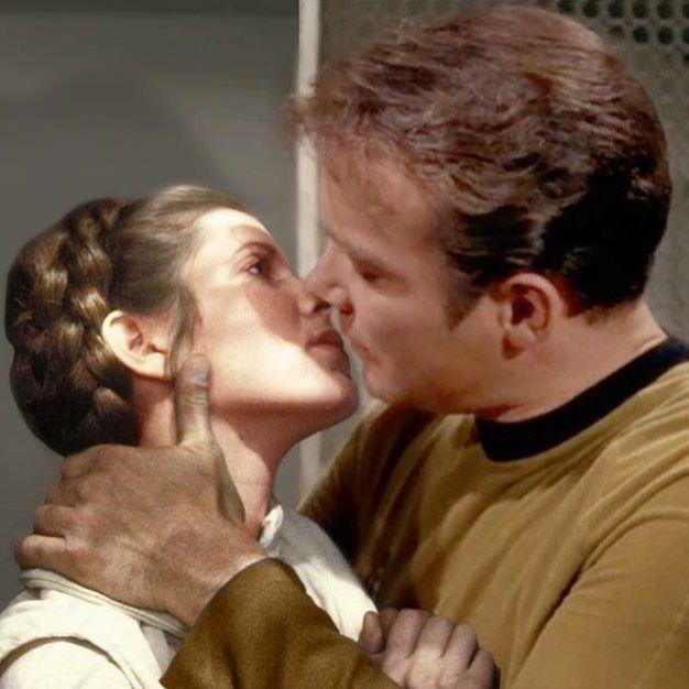 Captain Kirk Kissing Gif - NikMargot