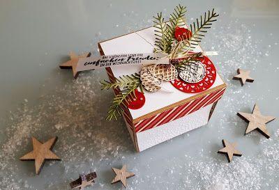 Explosionsbox, Weihnachten, Christmas, Tannenzauber, Allerbeste Wünsche, Holiday Katalog stampin up 2016/17, stampin up