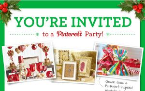 Awesome partnership!  Pinterest Teams Up With Michaels Craft Stores & Bloggers To Promote Parties
