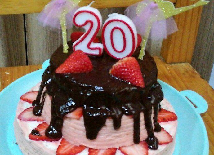 Tarta de fresas y chocolate para #Mycook http://www.mycook.es/cocina/receta/tarta-de-fresas-y-chocolate
