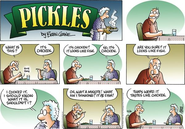 tickels comic strip