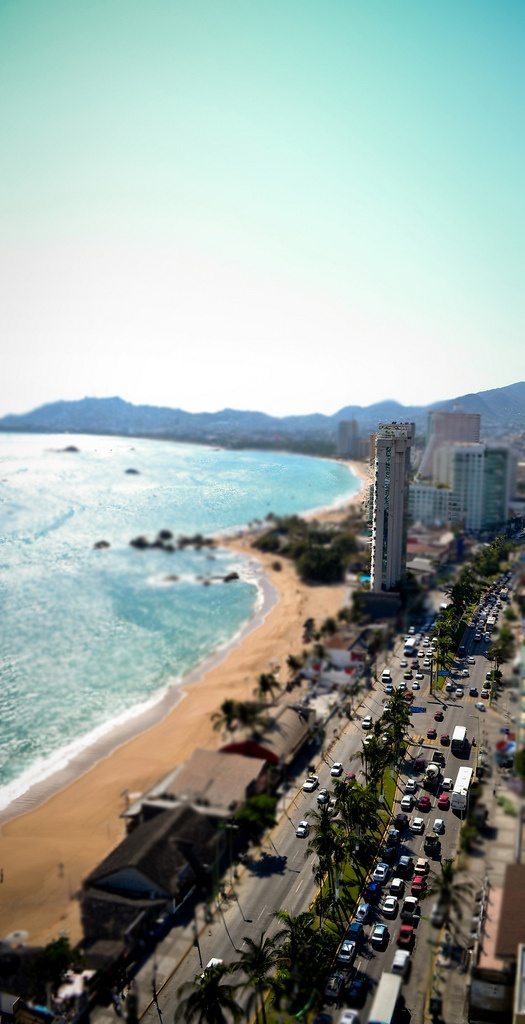 Acapulco #tiltshift #fotografia