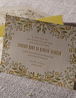 Invitation · Affordable Wedding InvitationsLetterpress ...